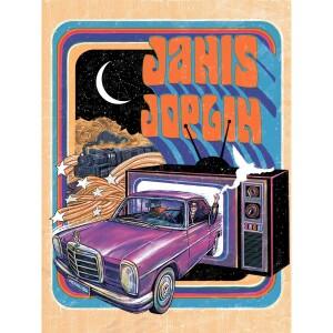 Janis Joplin Pearl 50th Anniversary Poster (Main Edition)