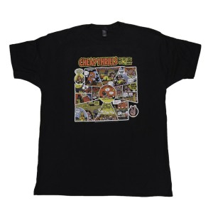 Black Cheap Thrills Cartoon T-Shirt