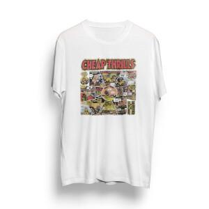 Natural Cheap Thrills Cartoon T-Shirt