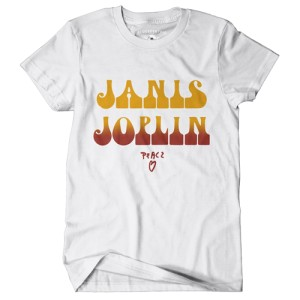 Hot Janis Joplin T-Shirt - Classic Heavy Cotton
