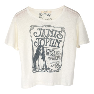 Janis White Kosmic Blues T-shirt