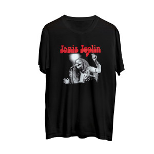Janis Joplin Photo T-shirt
