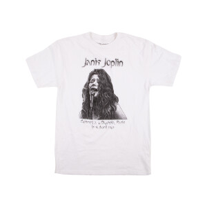 Janis Joplin Olympia Paris Ladies T-Shirt