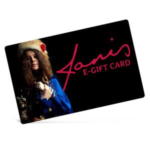 Janis Joplin eGift Card