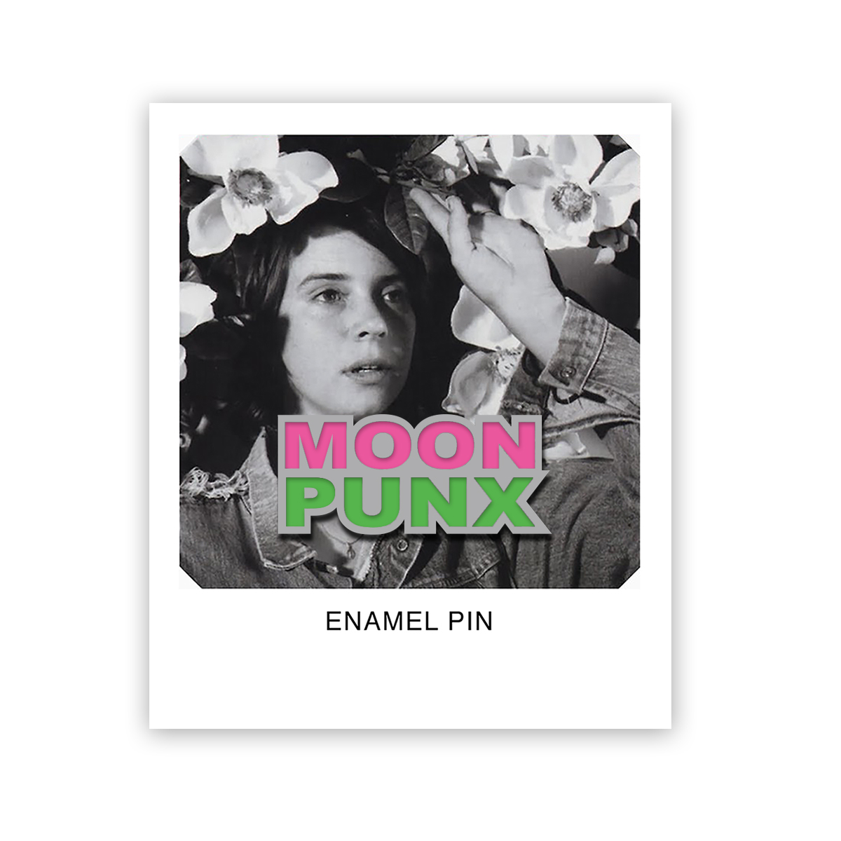 Moon Punx Enamel Pin