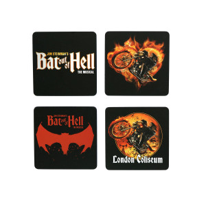 Bat Out Of Hell Coaster Set