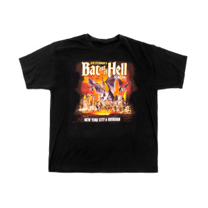 Bat Out of Hell the Musical New York City & Obsidian Event T-shirt