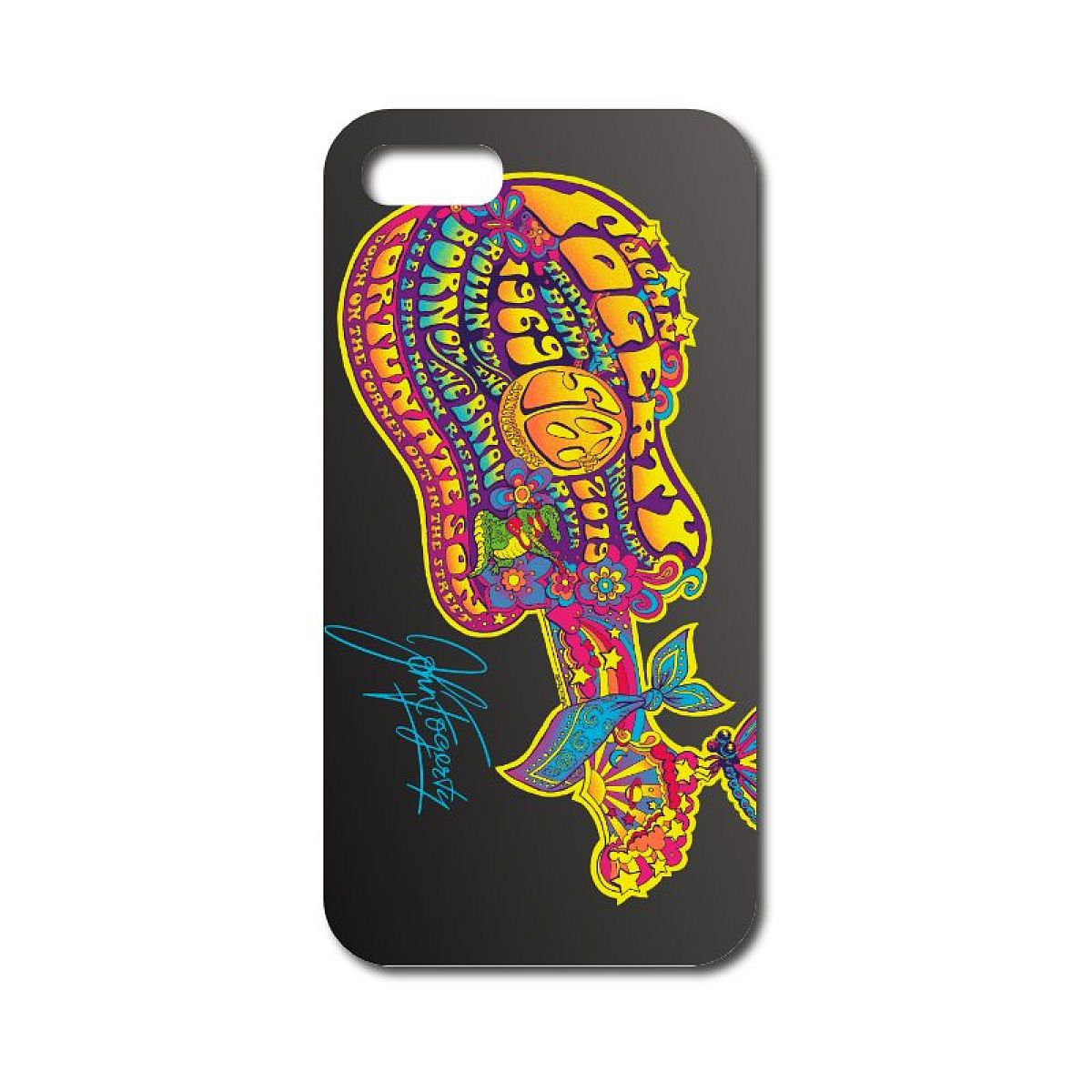 50th Anniversary Grey Guitar Phone Case