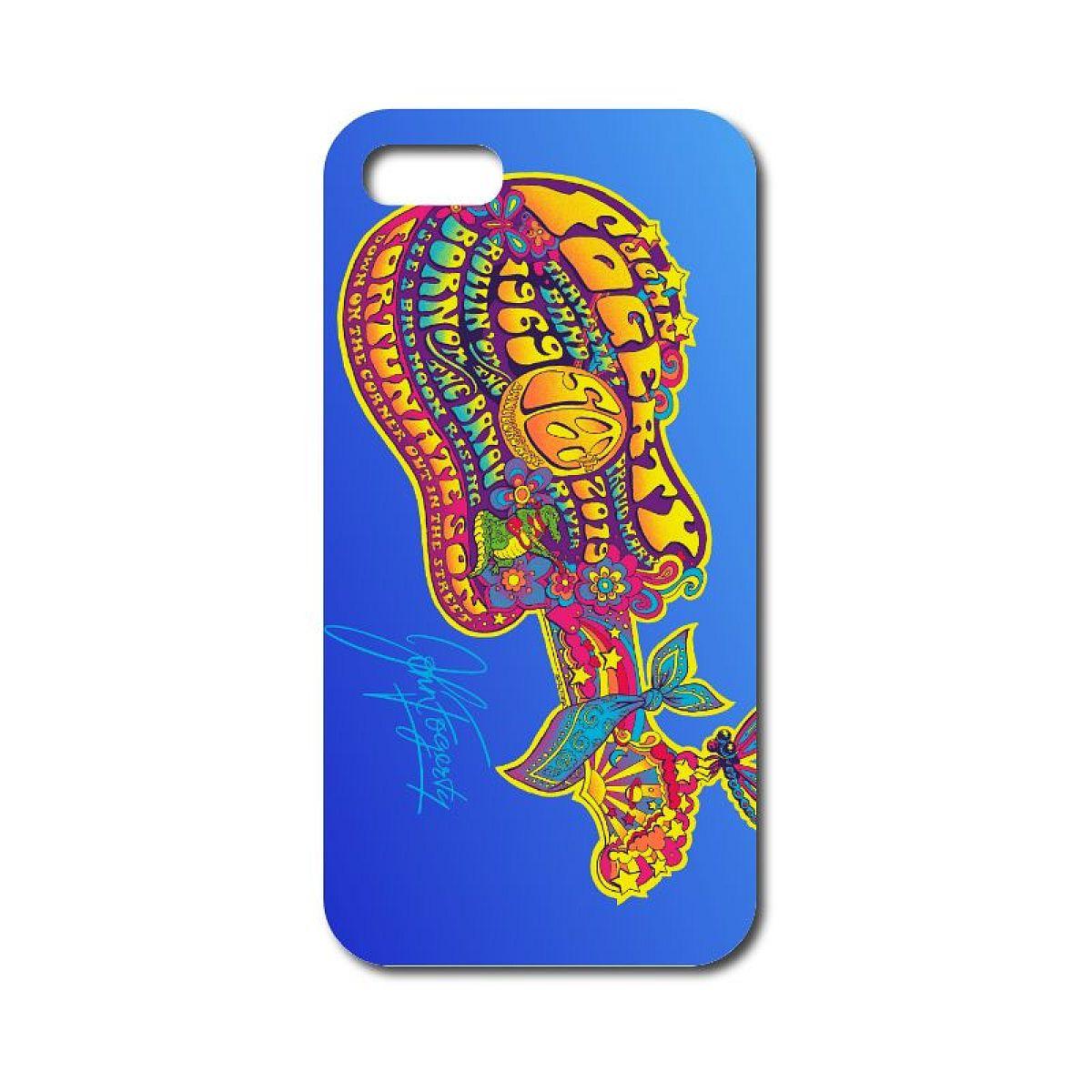 50th Anniversary Blue Guitar Phone Case