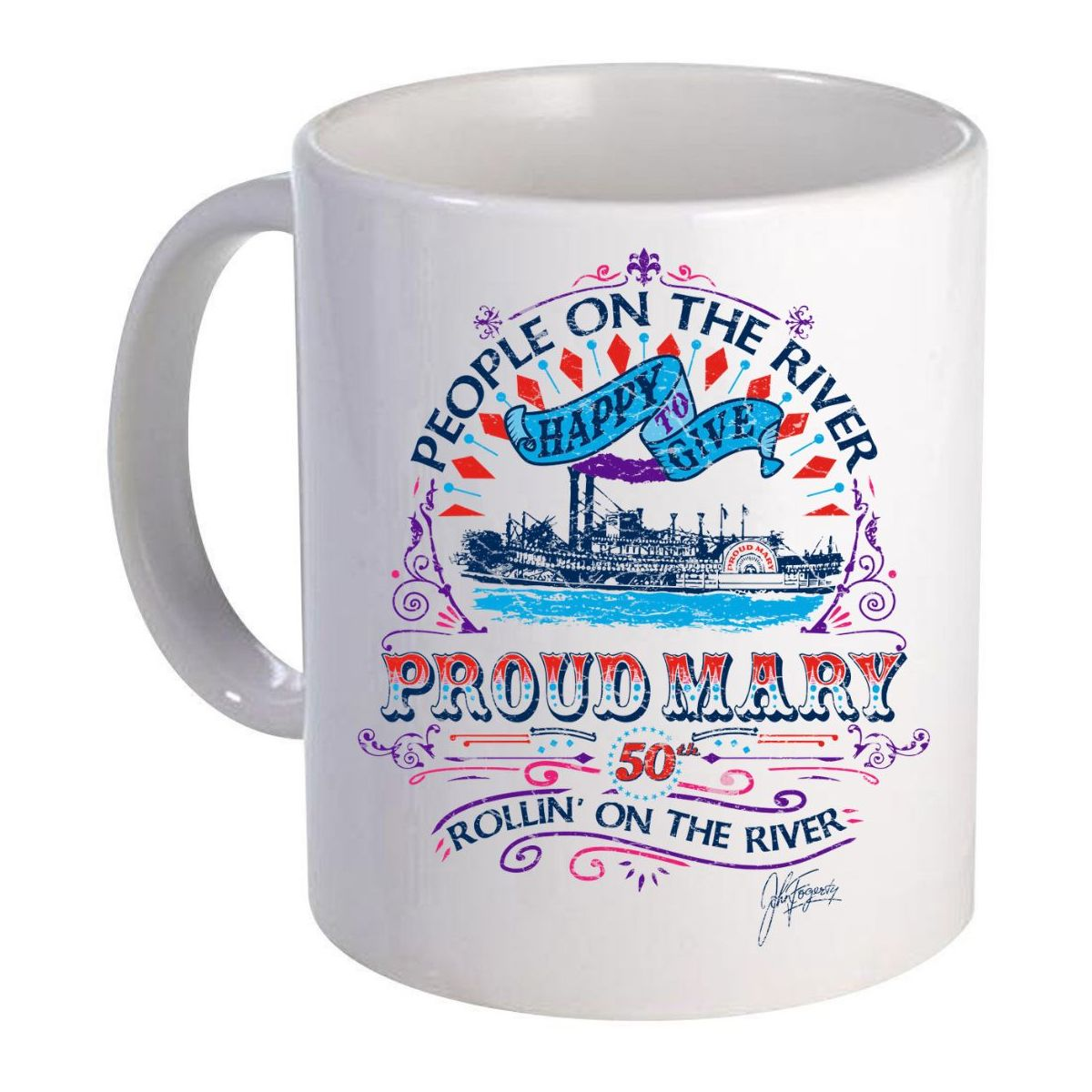 Proud Mary 50th Anniversary Mug