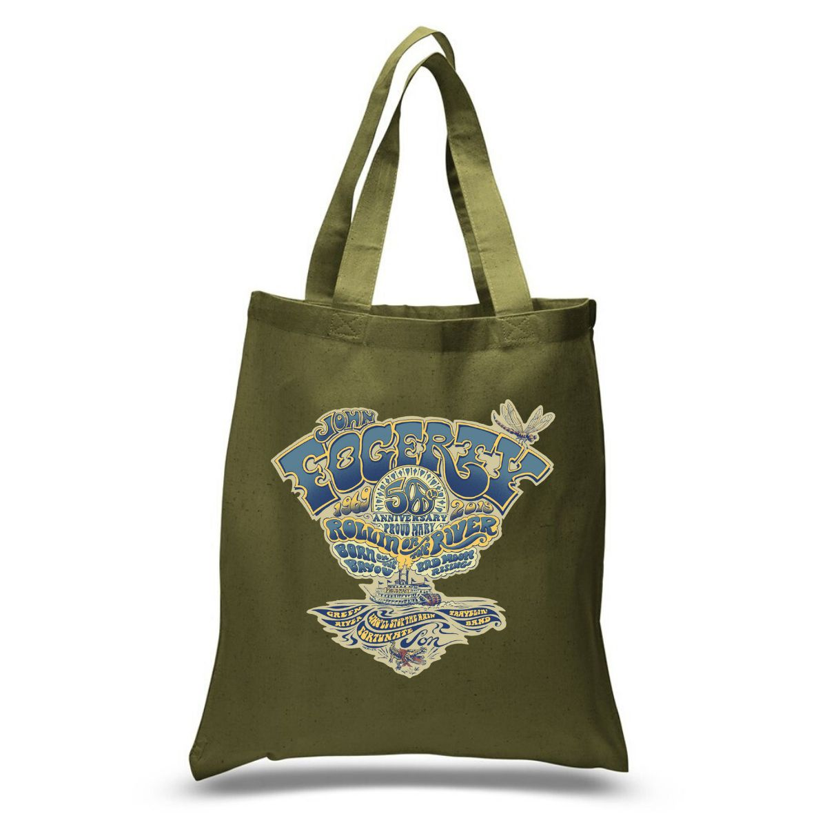 50th Emblem Tote Bag