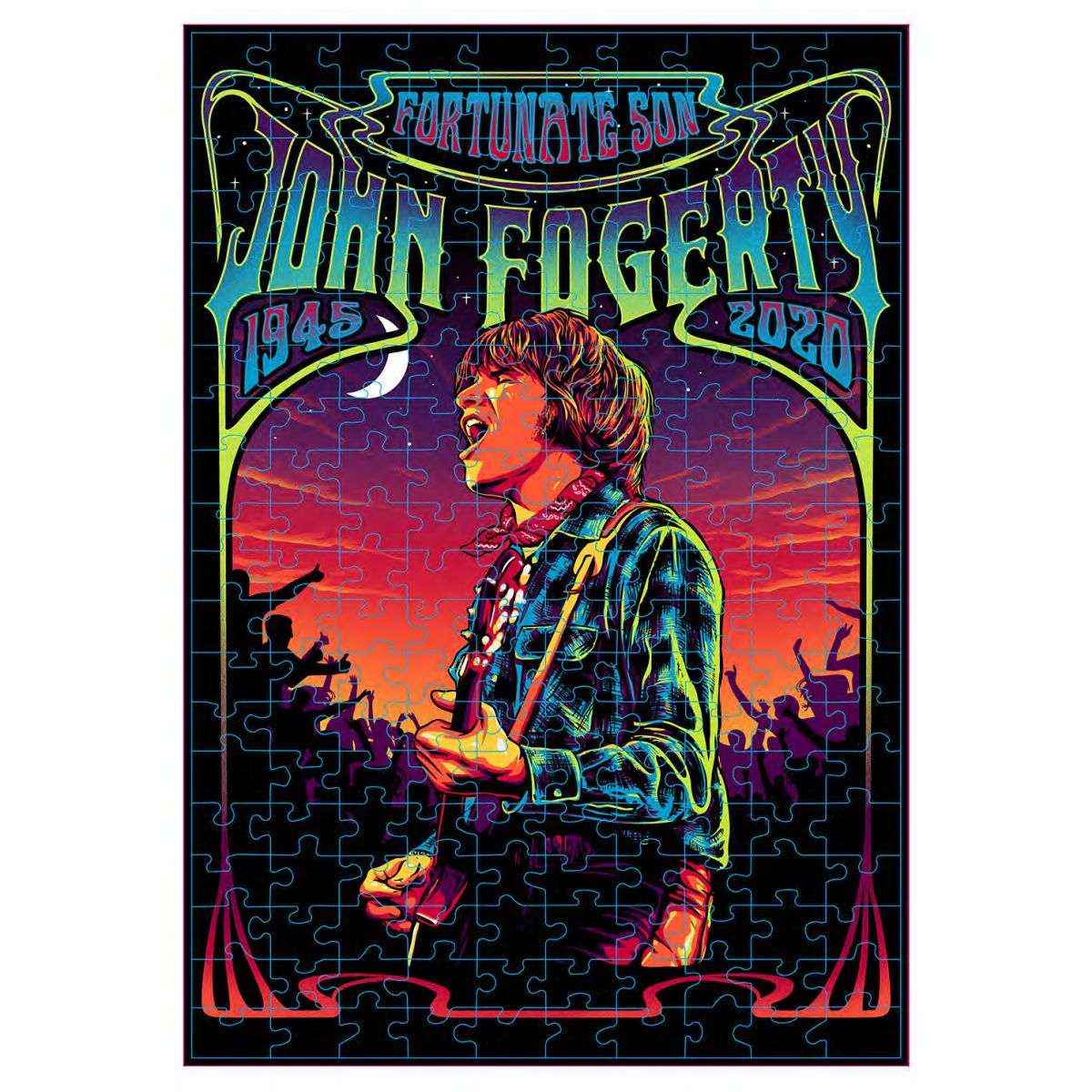John Fogerty Fortunate Son 75 Years 200 Piece Puzzle