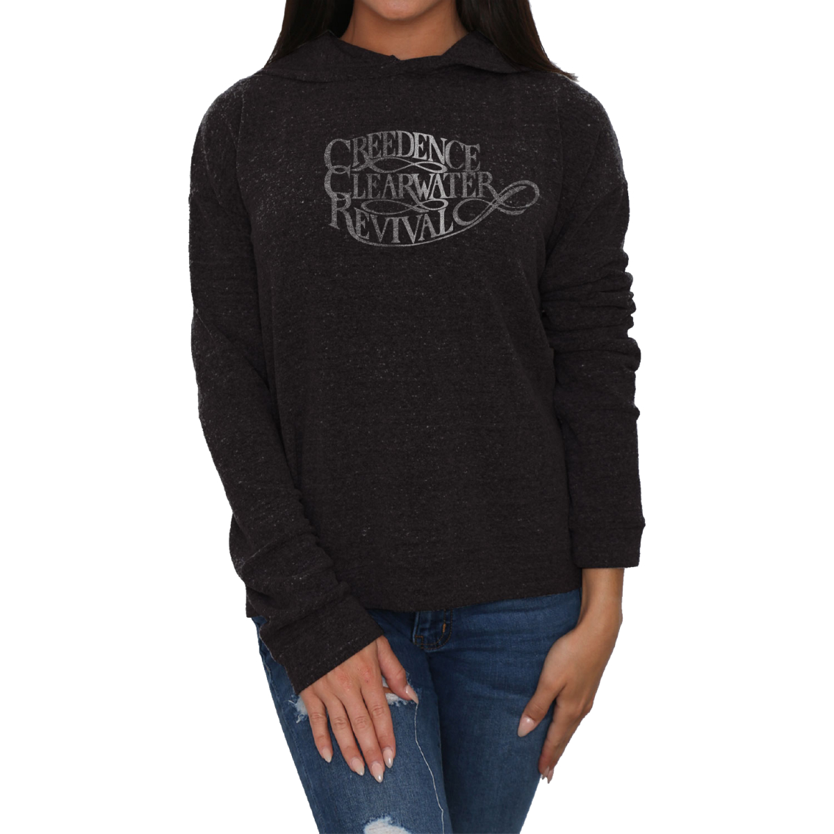 CCR Logo Ladies Hoodie