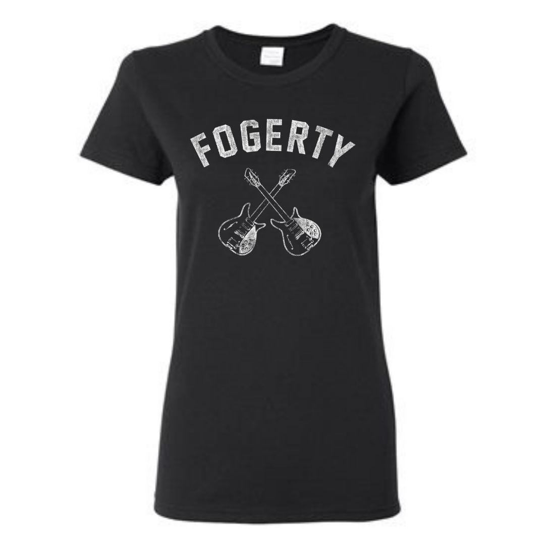 Women's Crossed Guitars T-Shirt