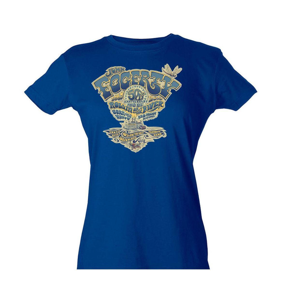 Women's John Fogerty 50th Anniversary Crest T-Shirt