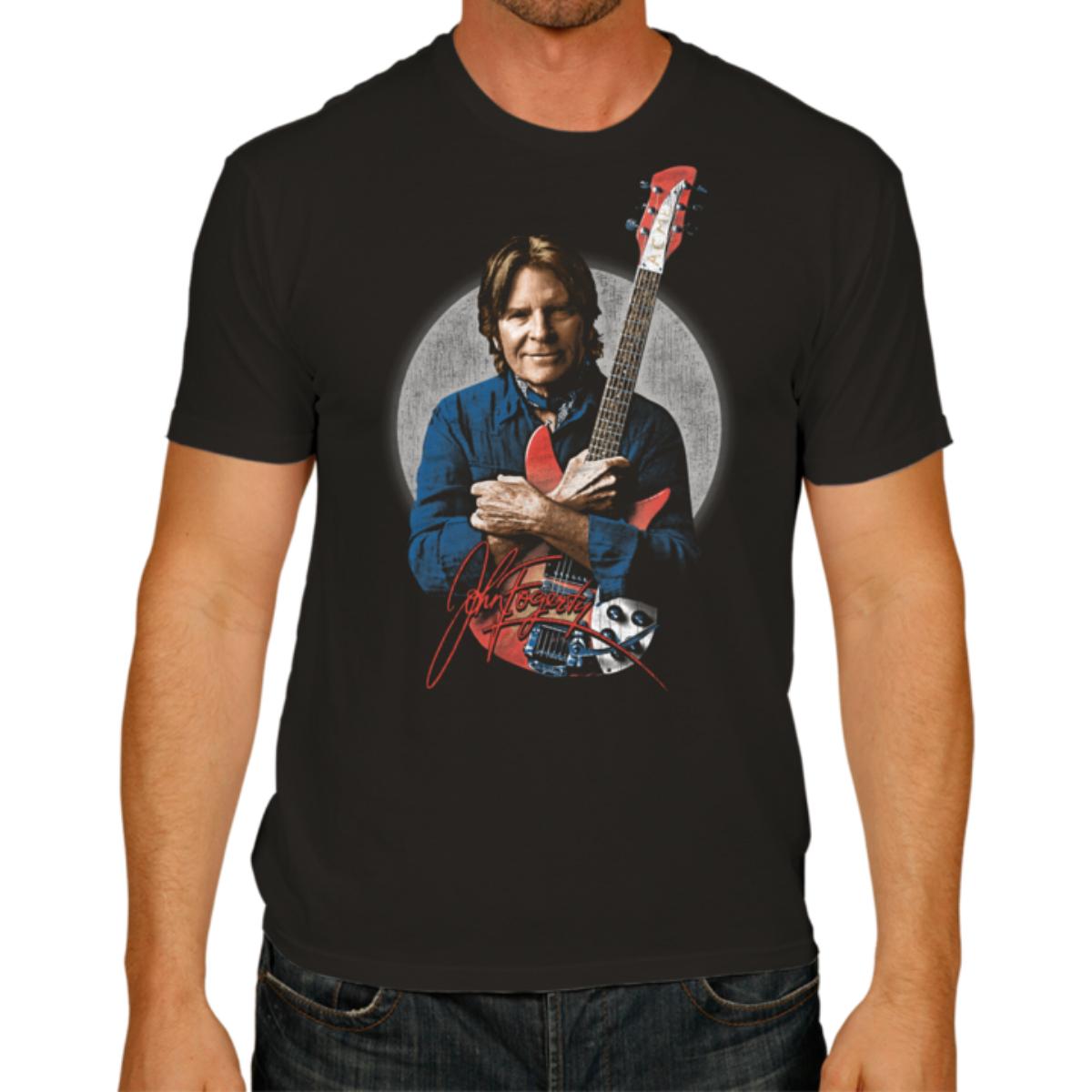 Fogerty Portrait with Signature T-shirt