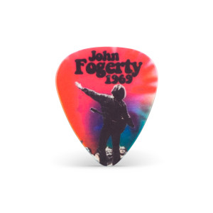 John Fogerty - Tie Dye 1969 Guitar Pick