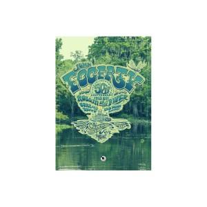 50th Anniversary Crest Bayou Glass Print