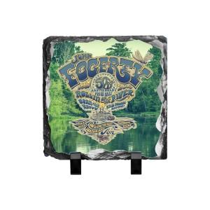50th Anniversary Crest Bayou Photo Slate