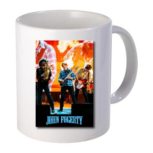 Red Rocks Guitar Mug