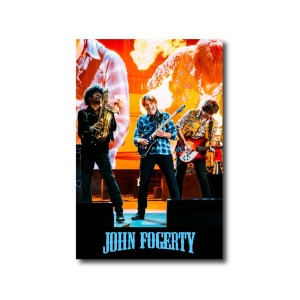Red Rocks Guitar Magnet