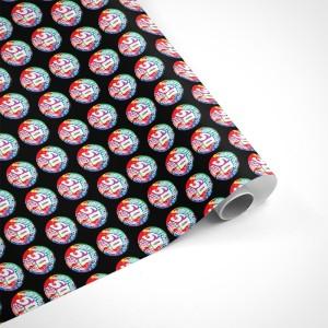 John Fogerty 50 Year Trip Circle Logo Wrapping Paper
