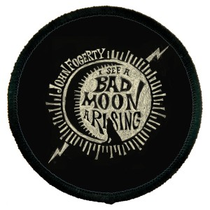 Bad Moon Wolf Round Patch