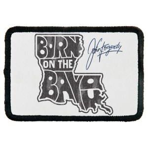 Born On The Bayou Rectangular Patch
