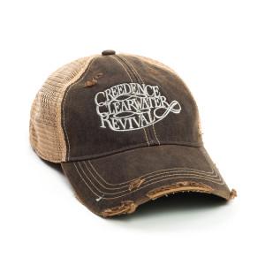 CCR Logo Trucker Cap - Black
