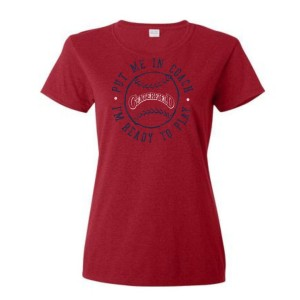 Women's Put Me In Centerfield T-Shirt