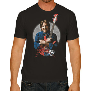 Fogerty Portrait with Signature T-shirt