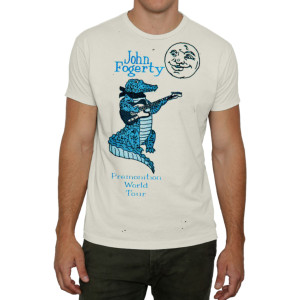 Fogerty Premonition World Tour '98 T-shirt