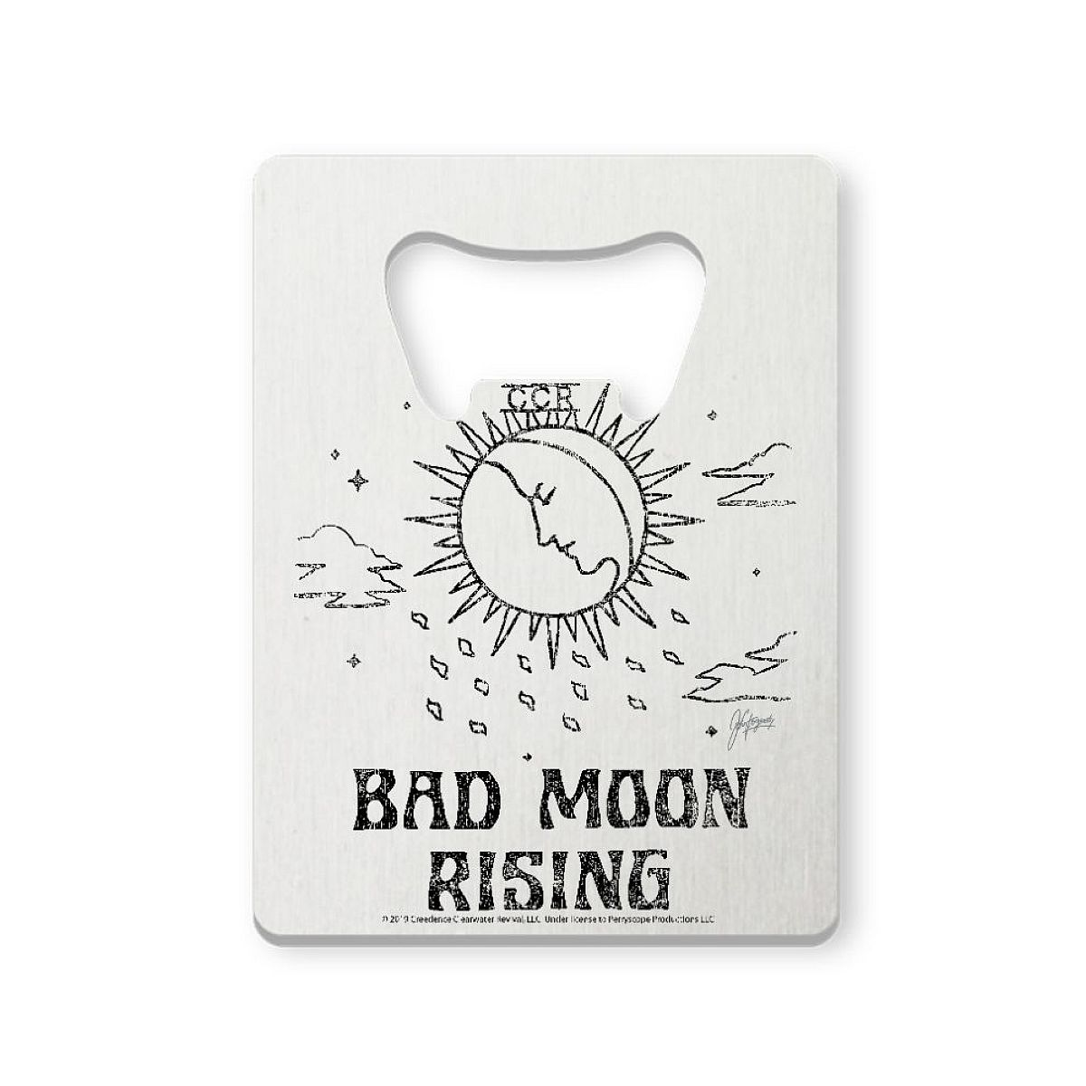Bad Moon Sun Bottle Opener