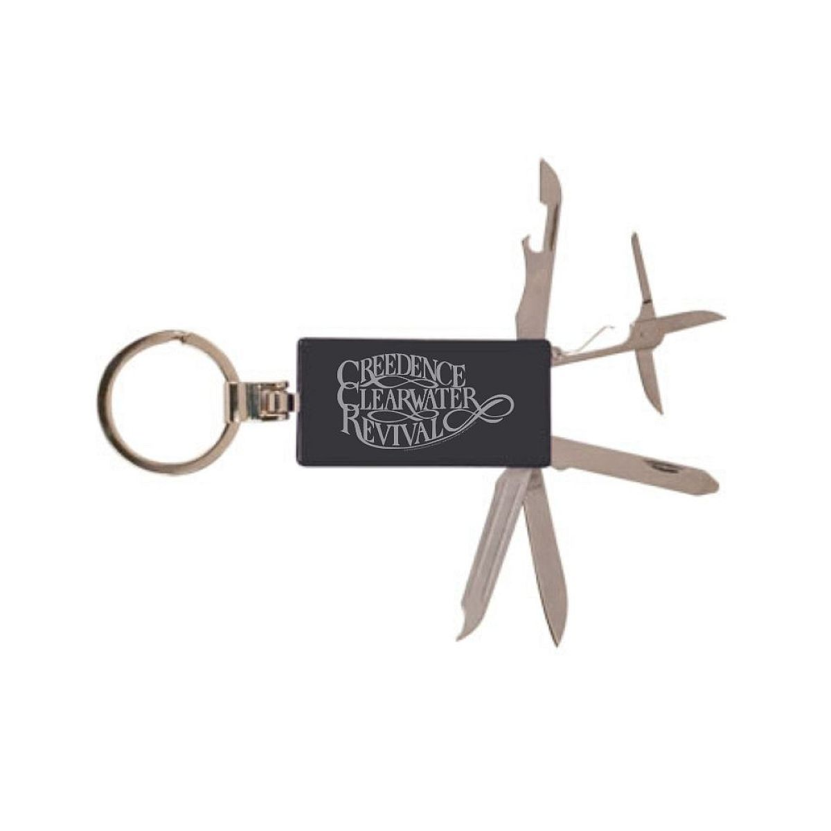 Scripted Laser Engraved Tool Keychain
