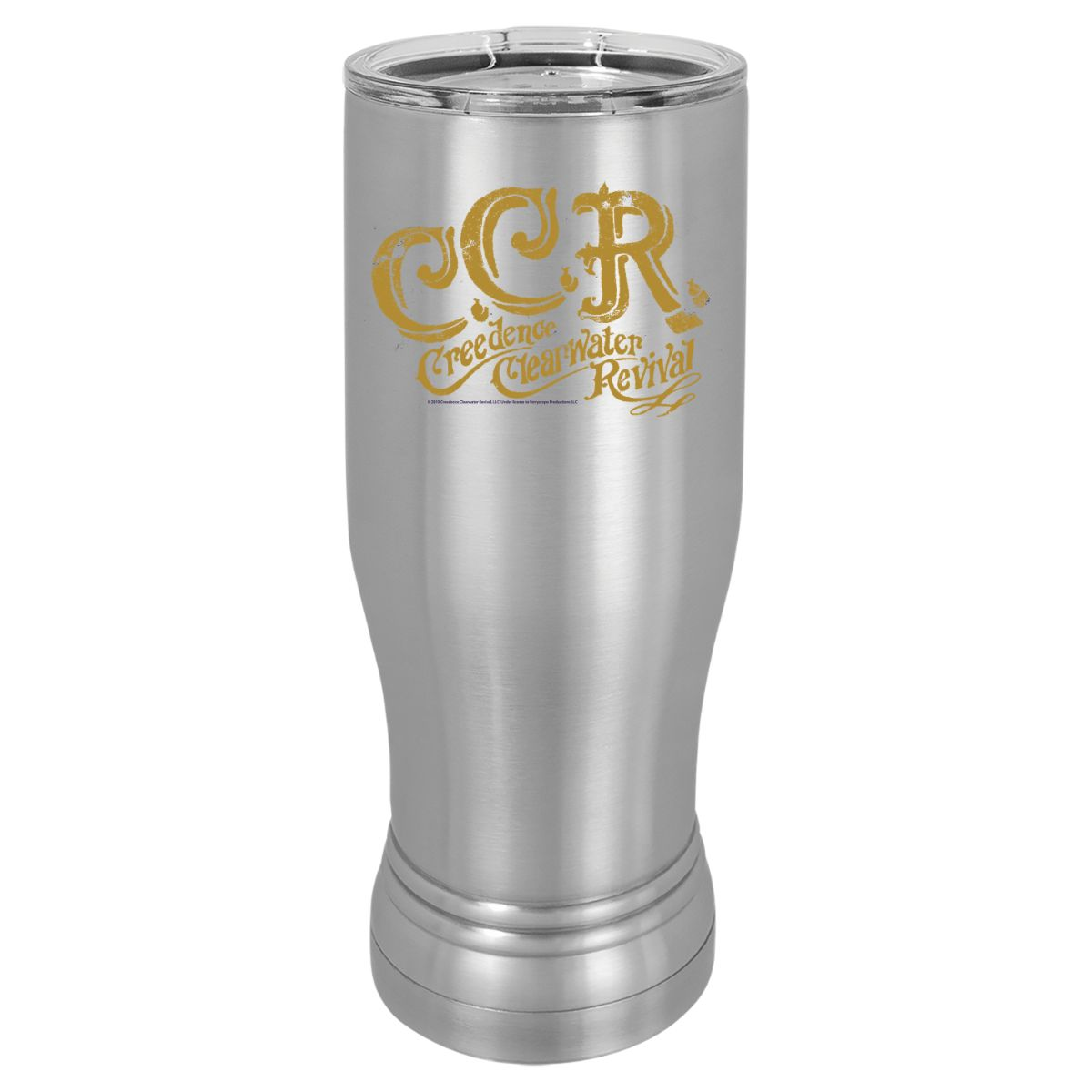 CCR Logo Polar Camel Pilsner Travel Mug