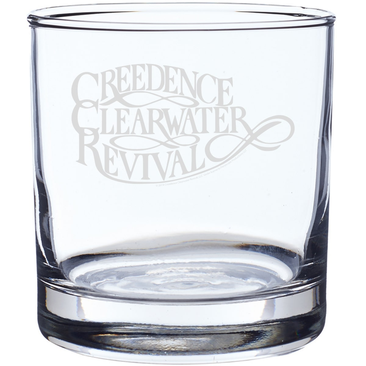 Script Logo Laser-Etched Whiskey Glass