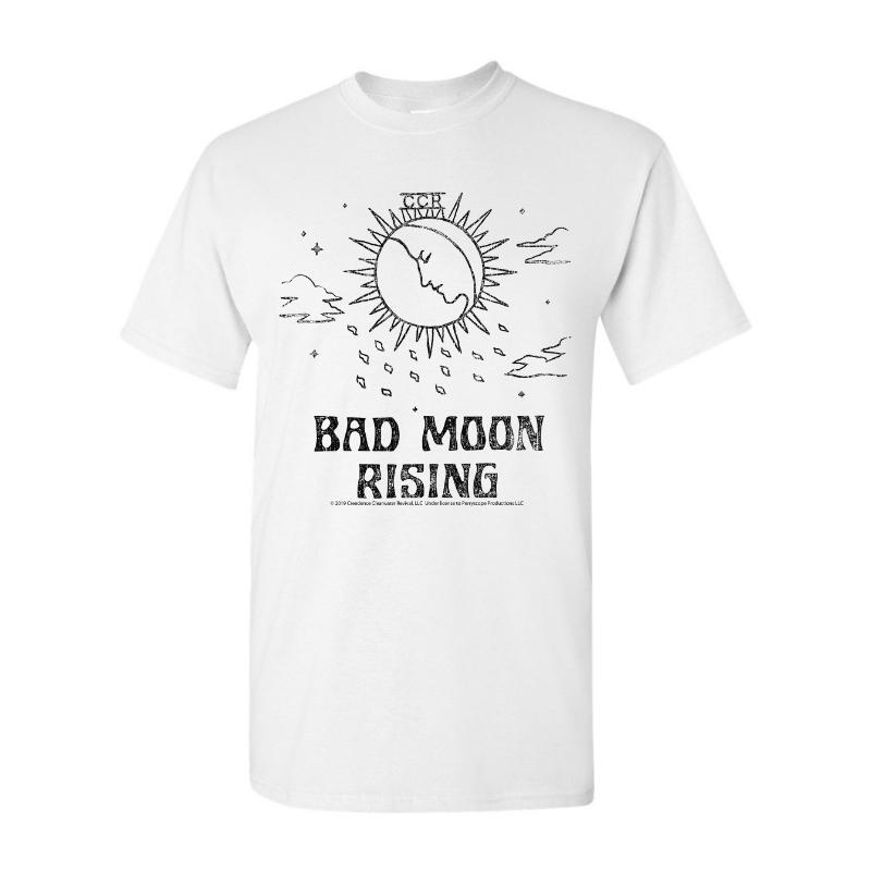 Bad Moon Rising Lines T-Shirt