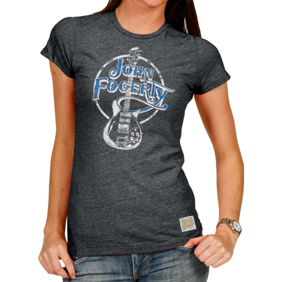 Fogerty Guitar  Ladies T-Shirt