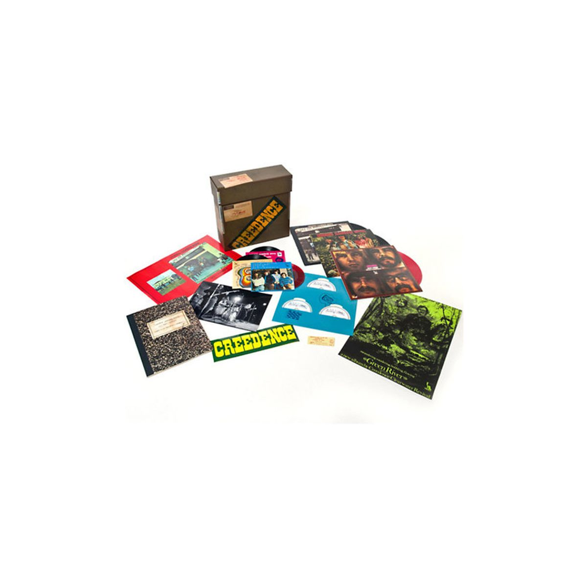 Creedence Clearwater Revival - 1969 (3 LP/ 3 CD/ 3 -7) Box Set