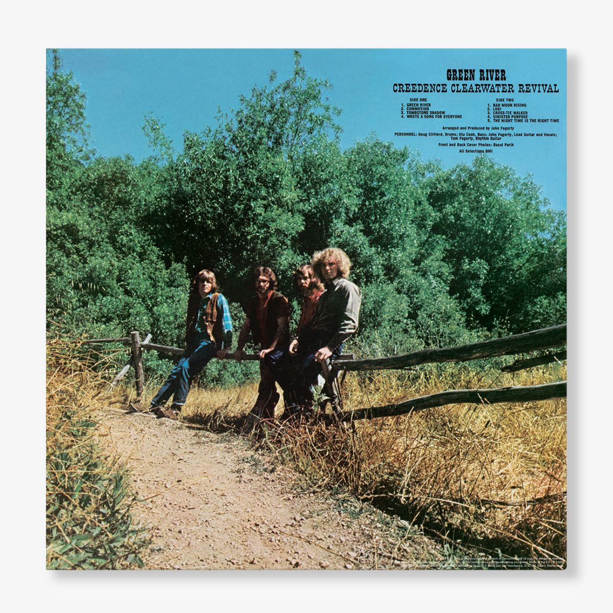 Creedence Clearwater Revival - Green River (Half-Speed Master LP)