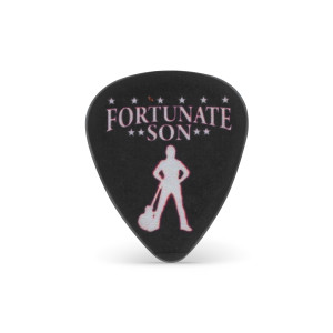 Creedence Clearwater Revival - Fortunate Son Black Guitar Pick