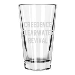 Collegiate Etched Pint Glass