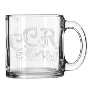 Curly Etched Mug
