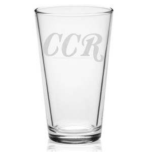 CCR Etched Pint Glass