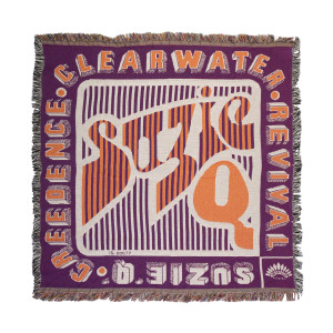 Creedence Clearwater Revival Suzie Q Throw Blanket