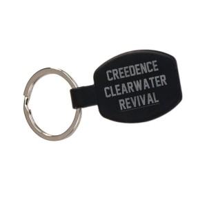 Collegiate Logo Laser Engraved Keychain