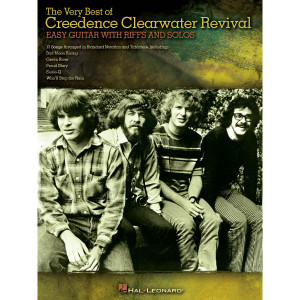 The Very Best of Creedence Clearwater Revival Easy Guitar Tab with Rifts and Solos