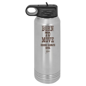 Born To Move Polar Camel Water Bottle
