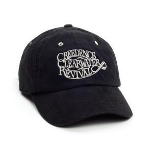 CCR Logo Baseball Cap - Black