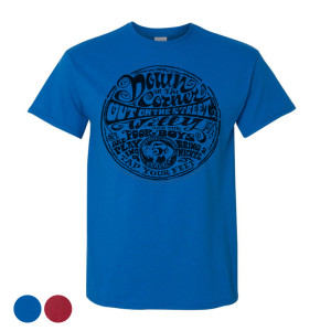 Down On The Corner Lyrics T-Shirt
